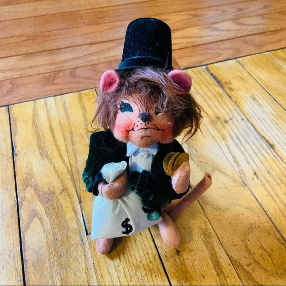 Annalee Frugal Scrooge Mouse